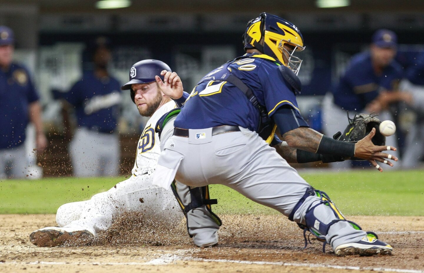 Padres vs. Brewers 8/1/16