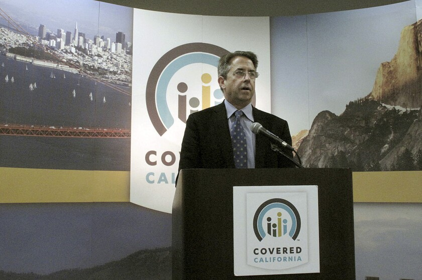 Peter Lee, executive director of Covered California, said he regretted the inconvenience for thousands of consumers caused by a recent software glitch.