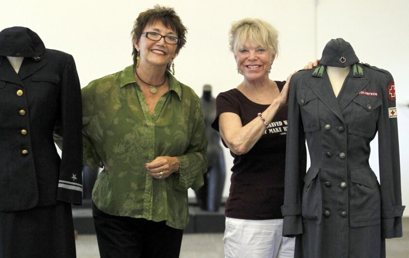 Director Ashley Gardner (left) and board president Anne Hoiberg of the Women's Museum of California, one of only five women's history museums in the country.