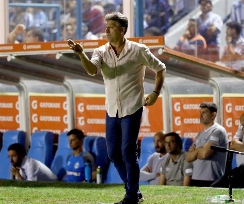 El entrenador de Gremio Renato Gaúcho. EFE/Archivo