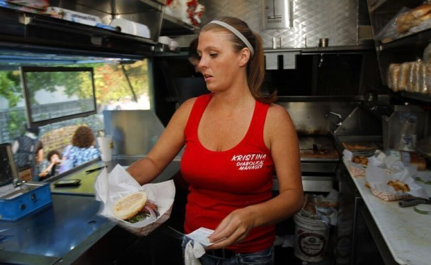 Former Devilicious Food Truck owner Kristina Repp.