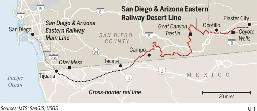 Desert Line gets new operator, repairs starting soon - The ... on rail system map, rail ramp map, london underground map, rail line map, rail way map, indiana railroad map, metro rail map, indian railway map, rail network map, rail trail map, rail transport map,