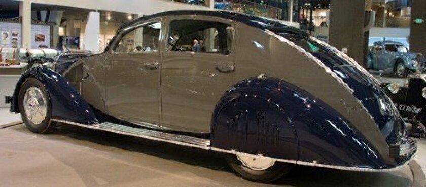 1935 Voisin C25 Aerodyne - Pebble Beach Best of Show in 2011