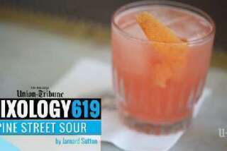 Mixology 619: Pine Street Sour