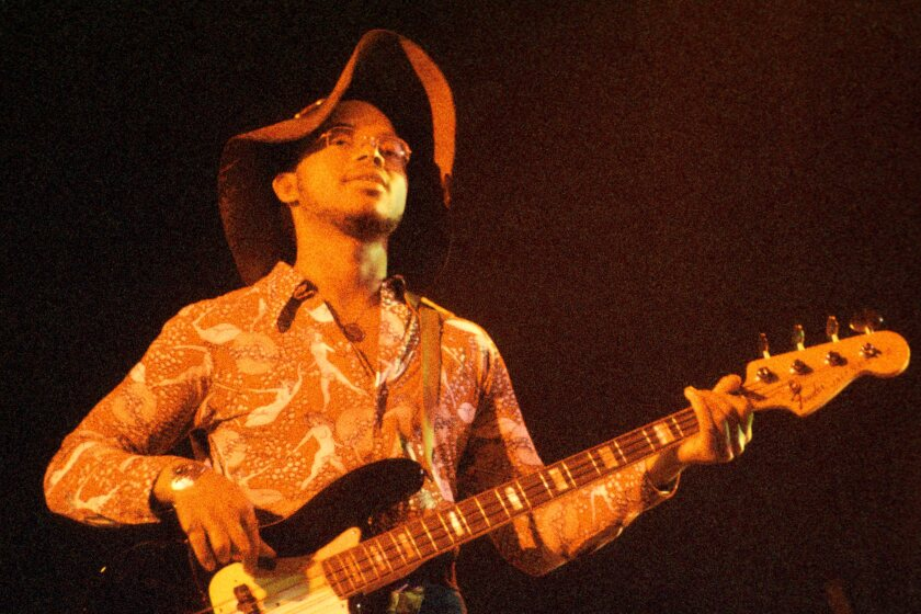 War's B.B. Dickerson playing bass.