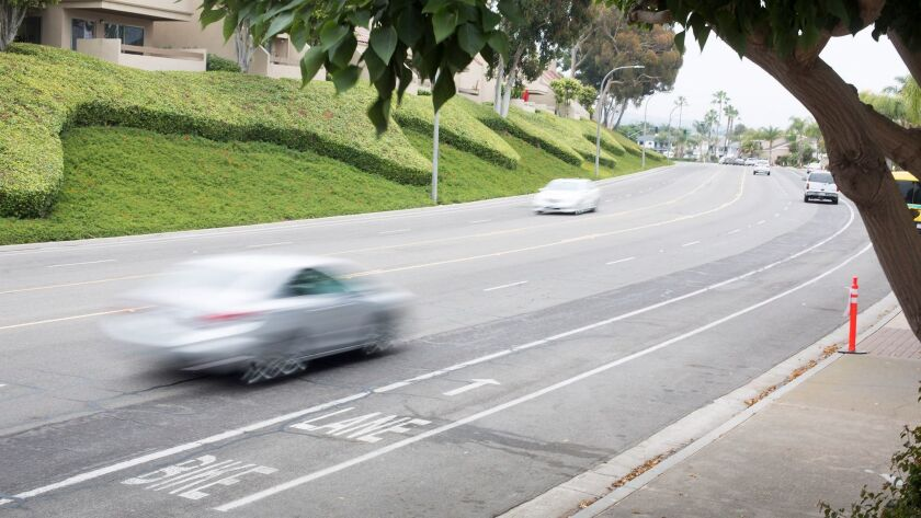 A recent month-long study measuring speed on Bayside's eastbound lanes at Harbor Island showed an av