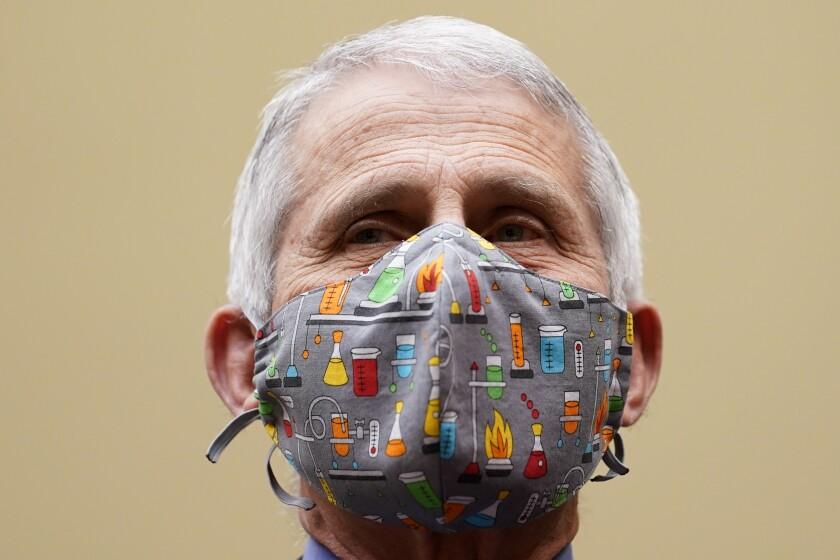 El doctor Anthony Fauci, el principal experto en enfermedades infecciosas del gobierno de EUA
