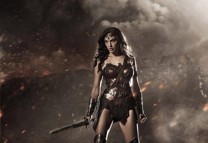 """Gal Gadot plays Diana Prince/Wonder Woman. The new """"Wonder Woman"""" movie based on the DC Comics character is due out in 2017."""