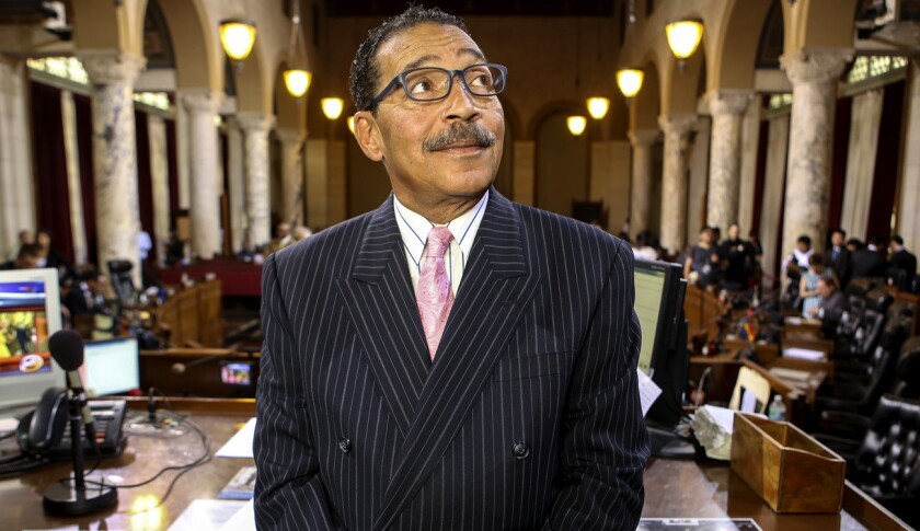 L.A. City Council President Herb Wesson is among the leading contenders in the race for the 2nd District seat on the Los Angeles County Board of Supervisors.