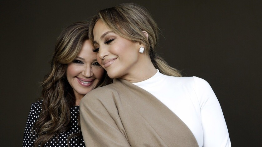BEVERLY HILLS, CA-DECEMBER 10, 2018: Leah Remini and Jennifer Lopez are photographed at the Four Se