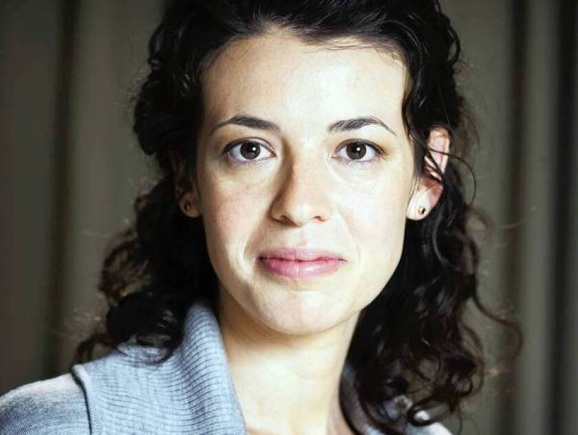 """Playwright Quiara Alegría Hudes' play """"Water by the Spoonful"""" was noticed in its 2011 presentation at Connecticut's Hartford stage."""