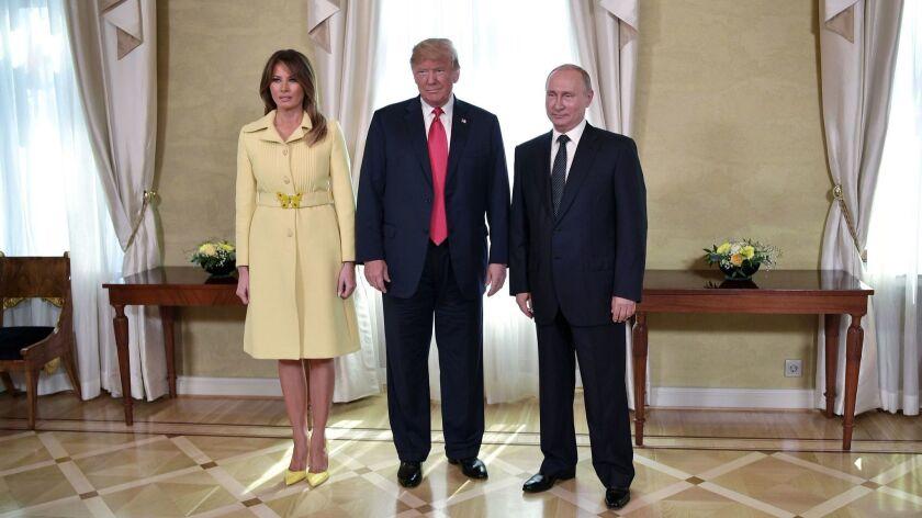 Russia US Summit in Helsinki, Finland - 16 Jul 2018