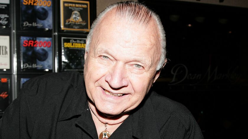 (FILE) Surf Guitarist Dick Dale Dies At 81 The 2010 NAMM Show - Day 1