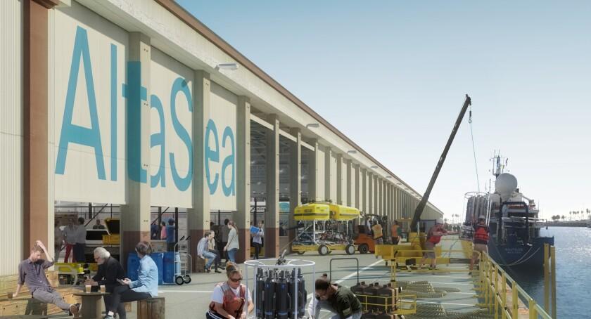 Berth 58-60 Center of Innovation Rendering of AltaSea