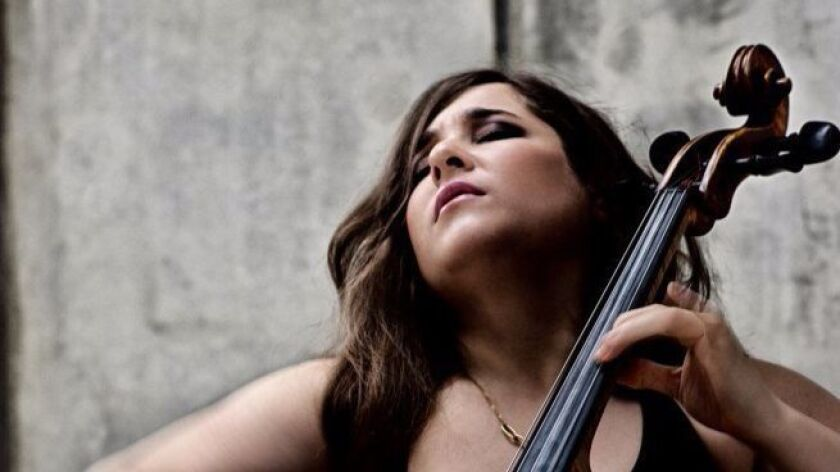 Cellist Alisa Weilerstein will perform at SummerFest on Aug. 23. CREDIT: Decca-Harald Hoffmann