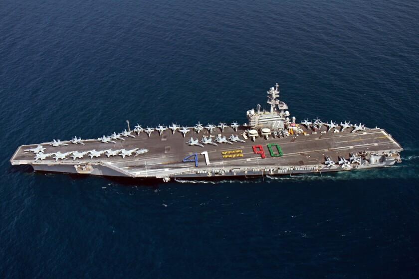 Aircraft carrier Bush