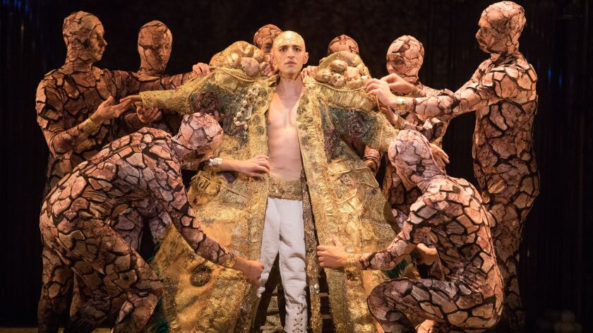 """Anthony Roth Costanzo in """"Akhnaten."""""""