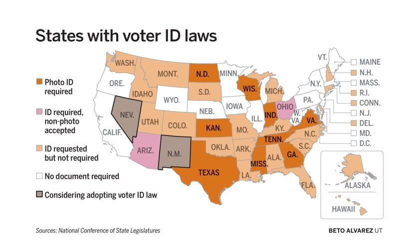 Ucsd Researchers Voter Id Laws Hurt Dems Minorities The San