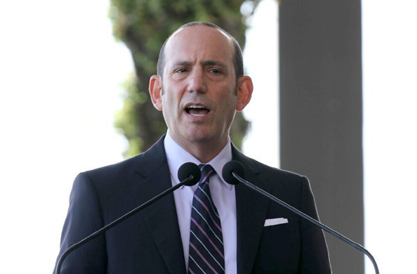 """MLS Commissioner Don Garber said of the Chivas USA problems: """"I don¿t think this is the fault of ownership per se. There¿s a lot of issues that we, the league, take responsibility for."""""""