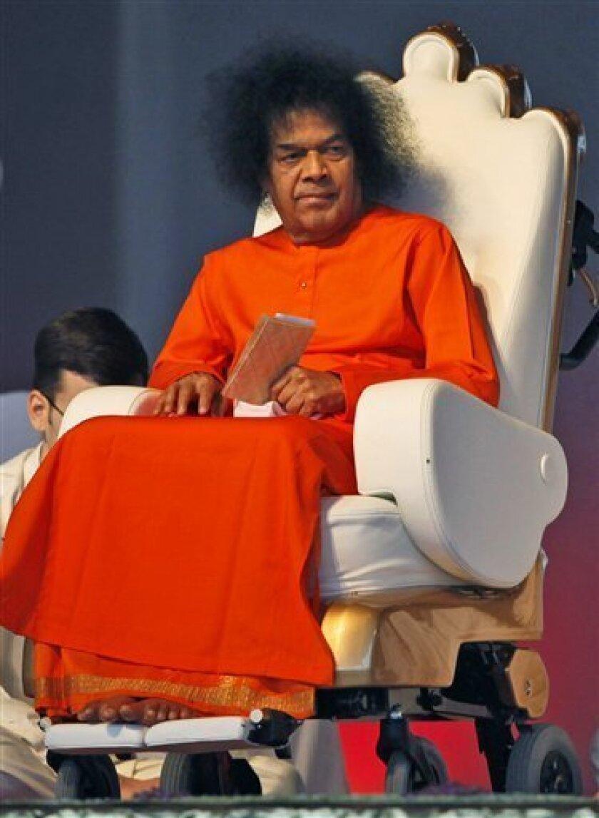 Revered Hindu guru Sathya Sai Baba dies at age 86 - The San