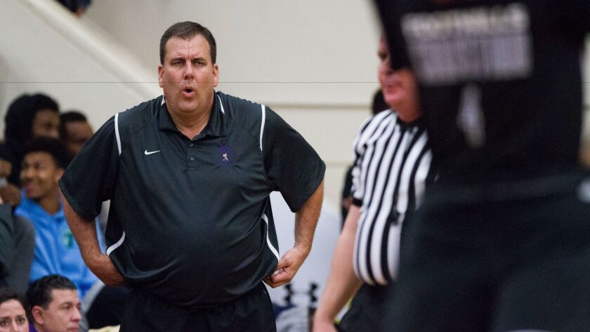Saints coach Mike Haupt says playing in the tough Torrey Pines tournament will help his team in the long run.