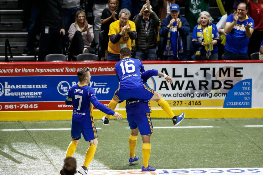 A photo of San Diego Sockers