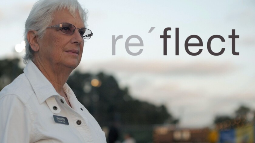 Sharon Russakoff will be featured in the first episode of the KPBS-TV documentary 'Re'flect' airing Jan. 12.
