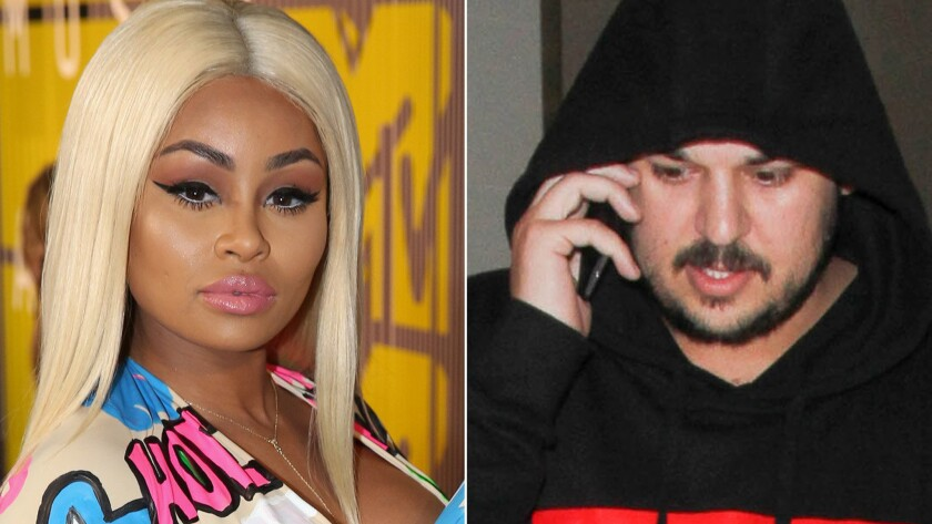 Blac Chyna and Rob Kardashian are engaged