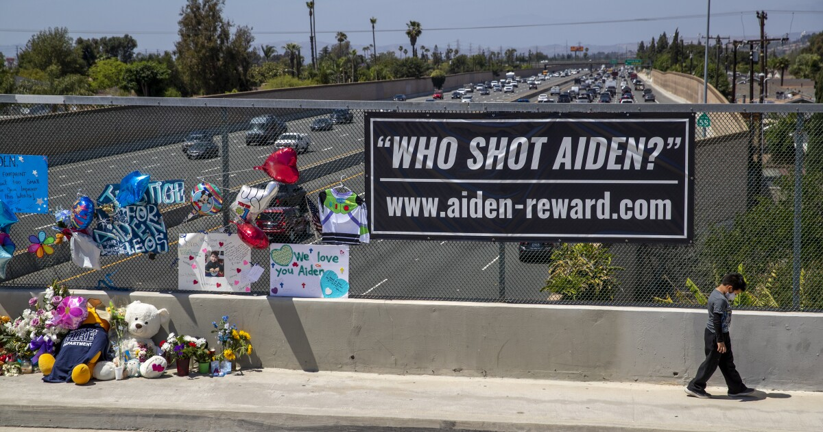 Couple aware they killed Aiden Leos a week later, filing says - Los Angeles Times