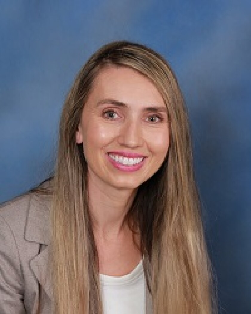 Dr. Desiree Shapiro of UC San Diego