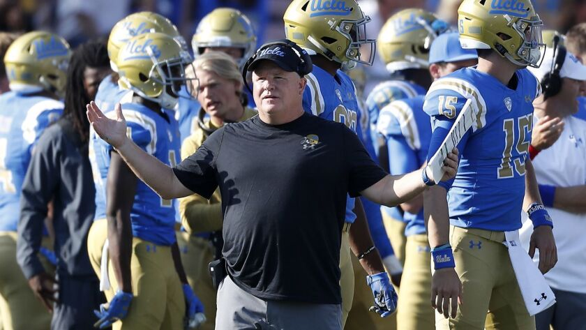 UCLA coach Chip Kelly is rarely at a loss for a quip around recruits.