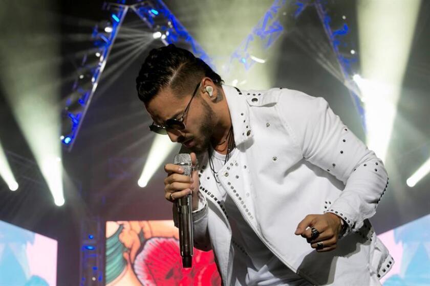 """El cantante colombiano Maluma anunció hoy su gira """"F.A.M.E USA Tour"""", con la que recorrerá al menos 21 ciudades de Estados Unidos, cuya capital acogerá el primer concierto el 23 de marzo de 2018. EFE/ARCHIVO"""
