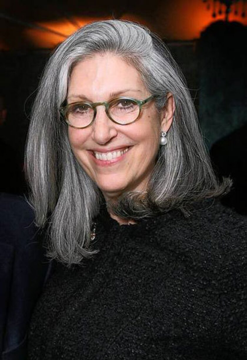 Deborah Landis, ever the advocate for costume designers