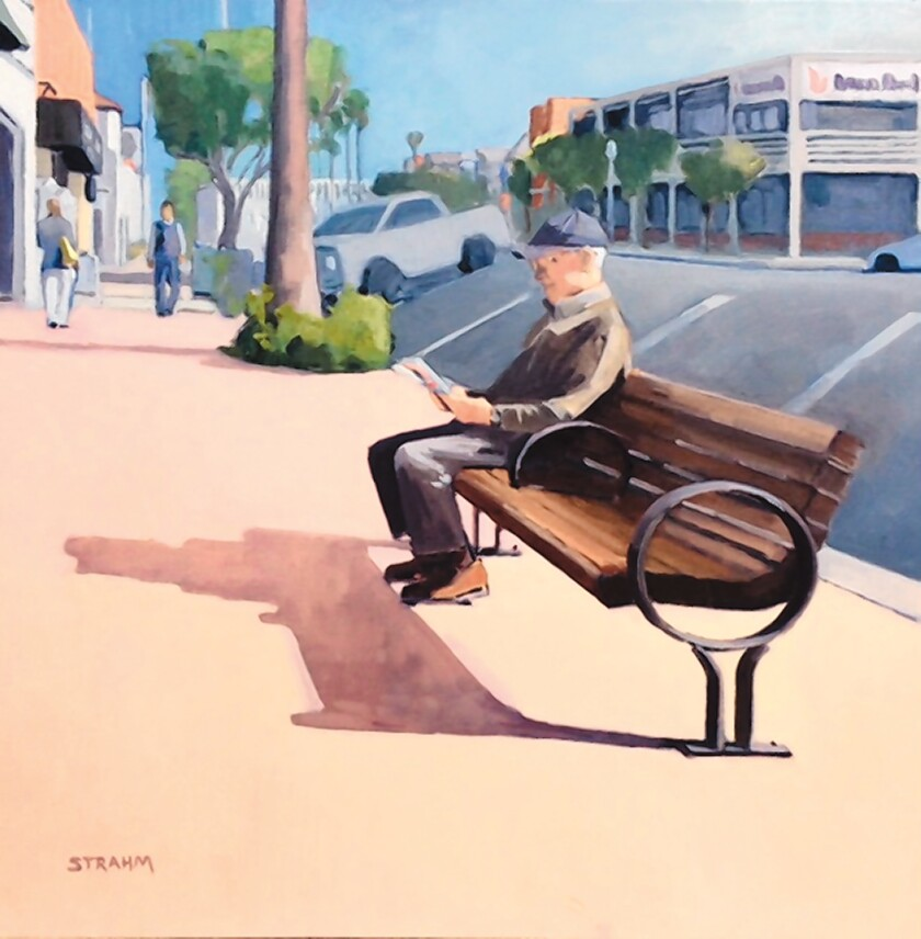 Paul Strahm's 'Bob' exemplifies the La Jollans you pass on the street.