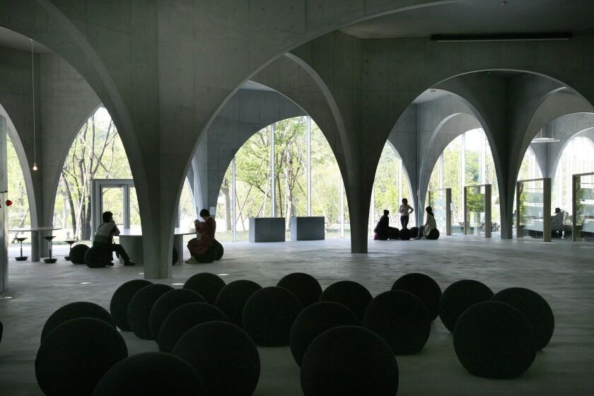 Toyo Ito's Tama Art University Library in Tokyo