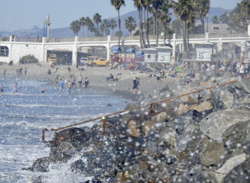 Expect a high surf advisory in the county late this weekend