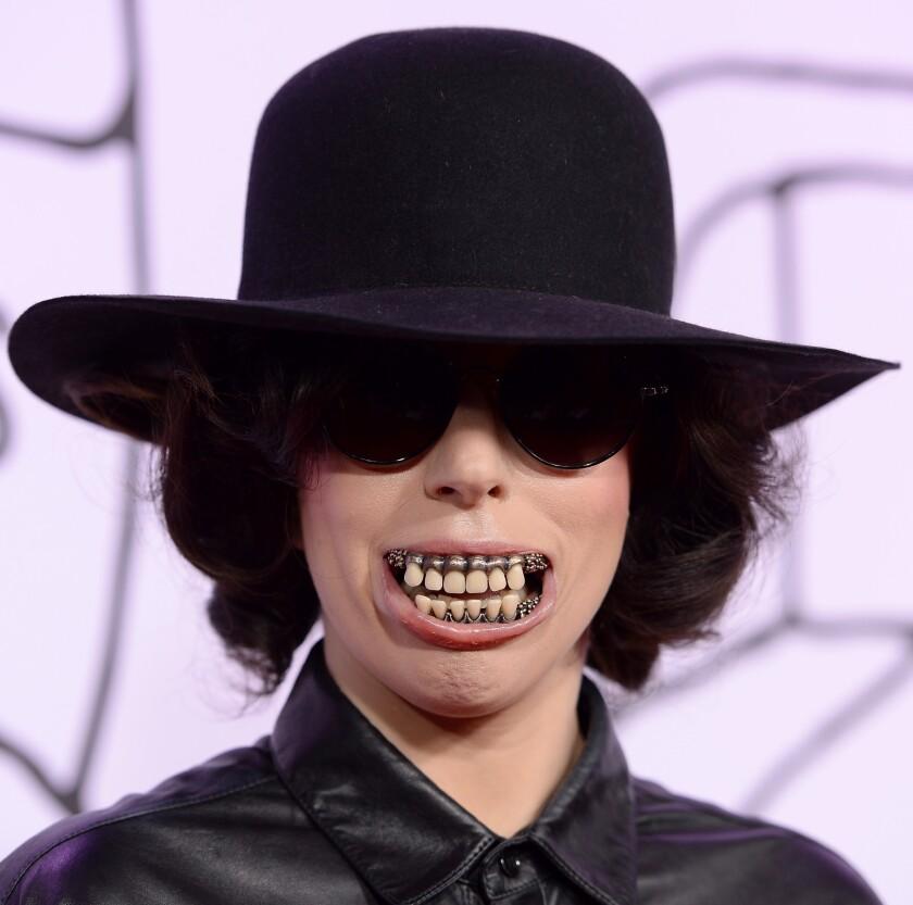 NEW YORK, NY - NOVEMBER 03: Singer Lady Gaga attends the YouTube Music Awards 2013 on November 3, 2013 in New York City.