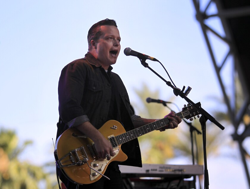 Jason Isbell, above, ties Rosanne Cash and Robert Ellis with three nominations apiece for the 2014 Americana Music Assn. Awards.