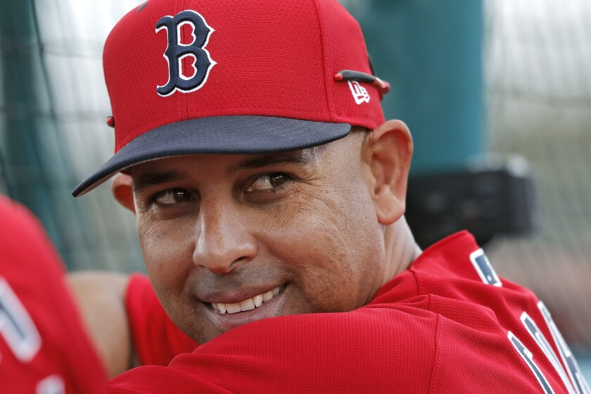 The Red Sox rehired manager Alex Cora less than a year after parting ways because of his role in the Astros cheating scandal.