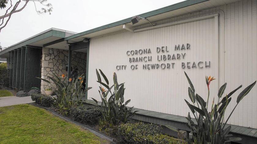 Corona del Mar library