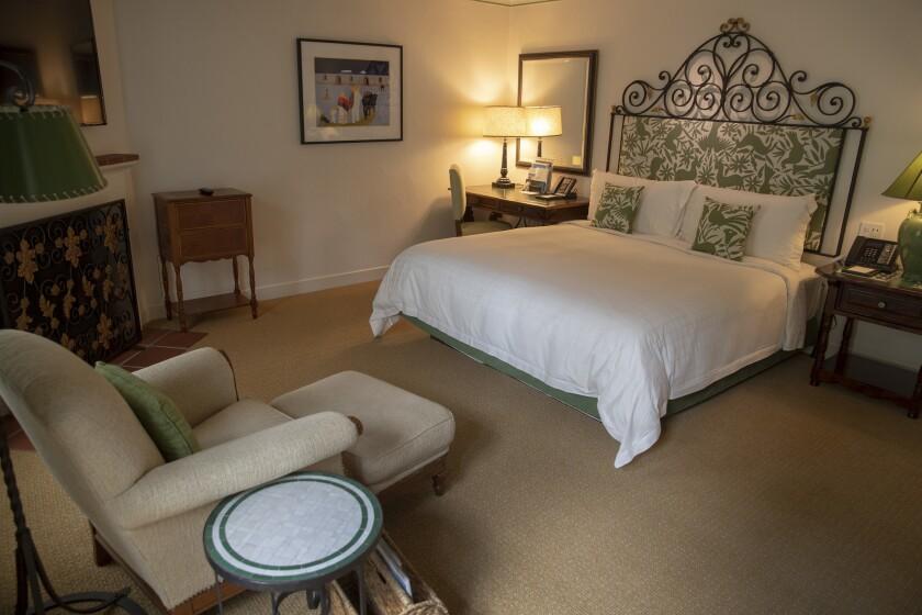 SANTA BARBARA, CALIF. -- THURSDAY, JULY 26, 2018: A room at the Four Seasons Resort The Biltmore San