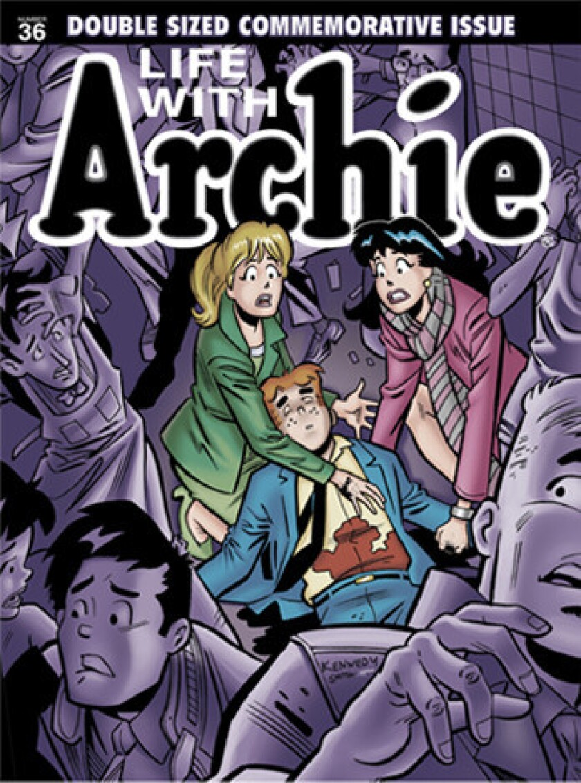 "The cover of ""Life With Archie"" issue No. 36."