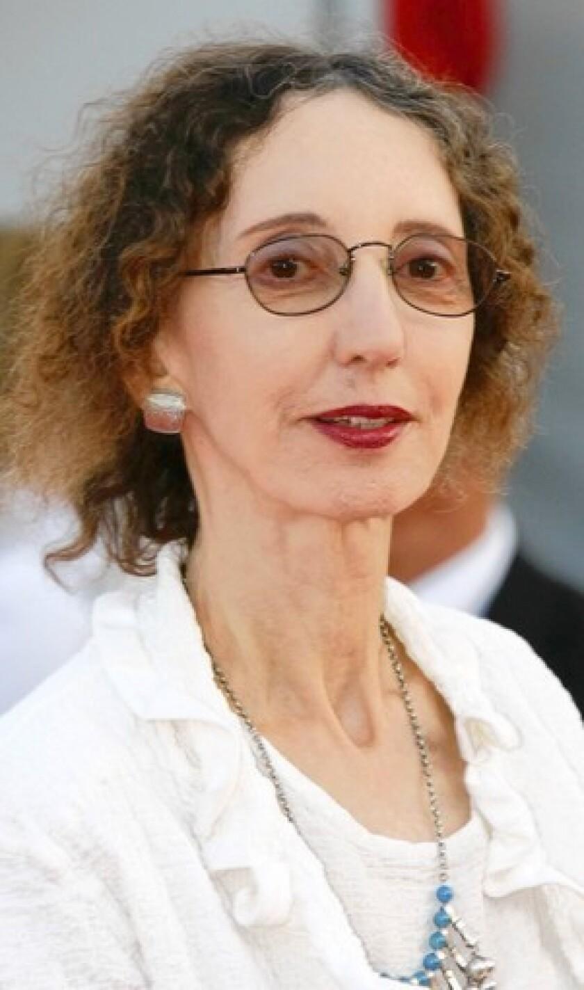Author Joyce Carol Oates.