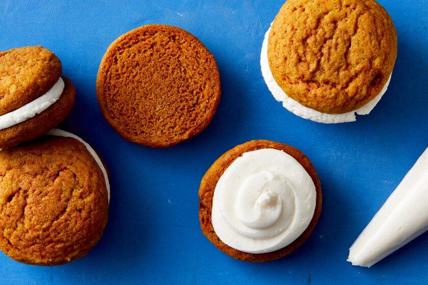 12 Days of Holiday Cookies: Golden Oat Milk Creme Pies