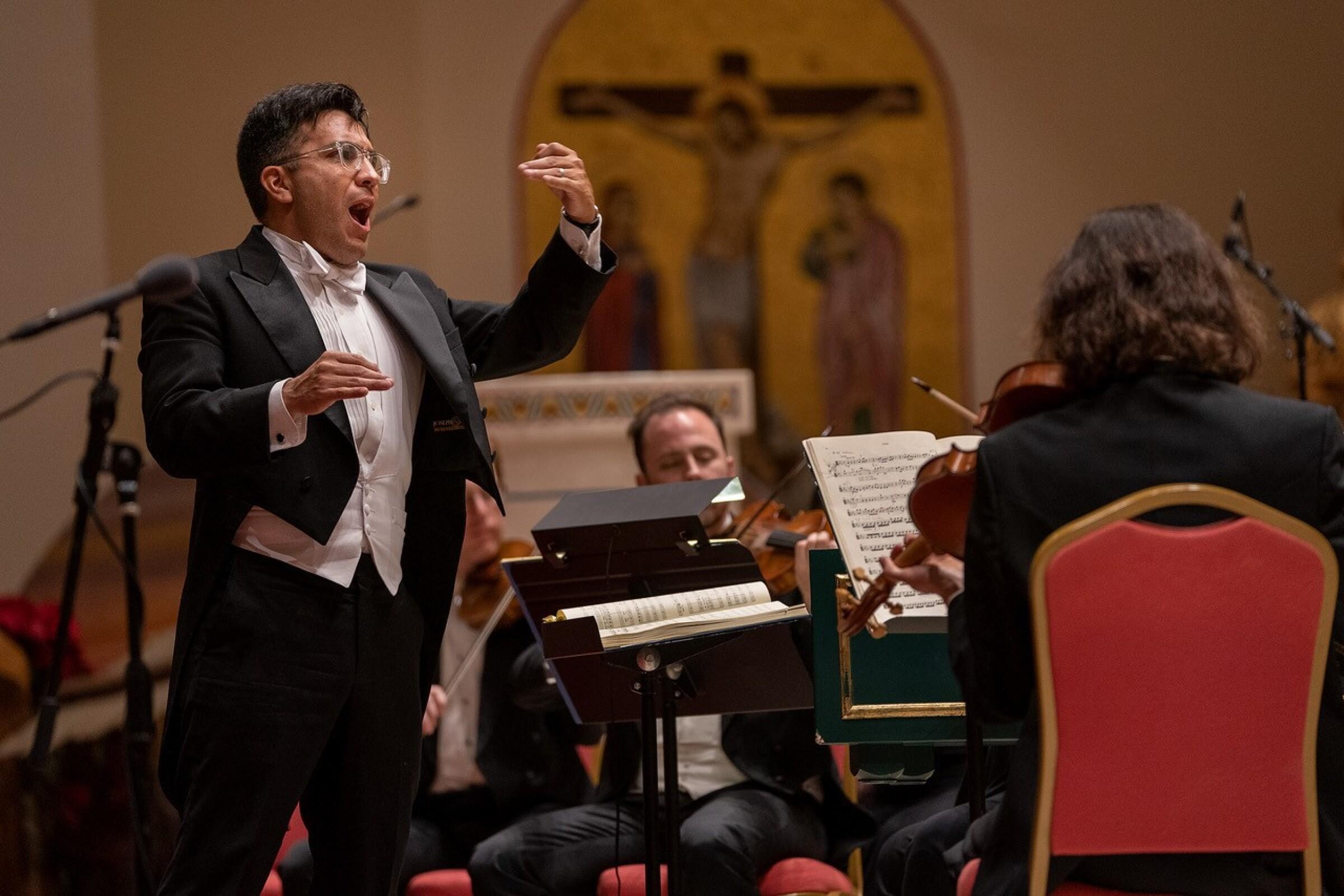 Bach Collegium San Diego's Ruben Valenzuela