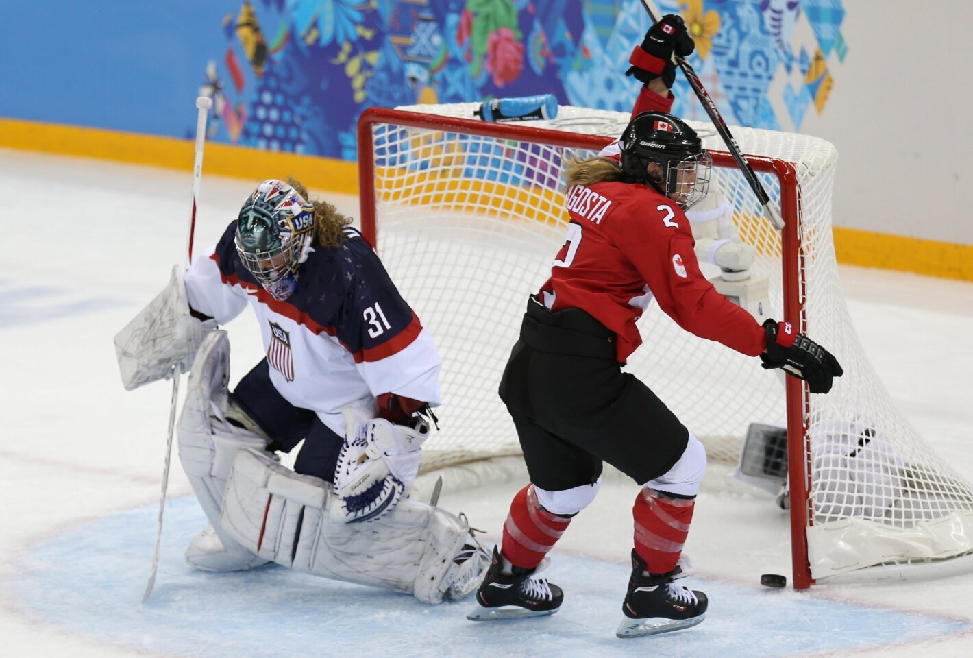 U.S.A. vs. Canada Women's Hockey