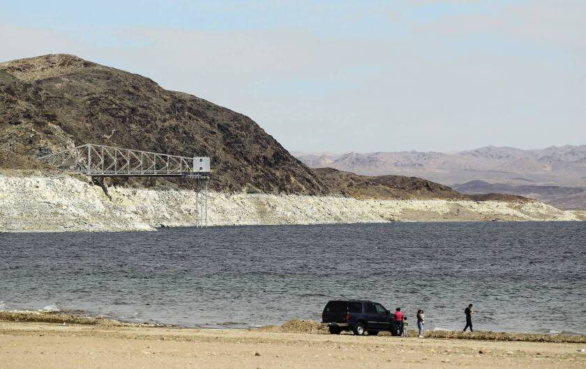 """Lake Mead's """"bathtub ring"""" is stark visual evidence of the misuse of a precious resource."""