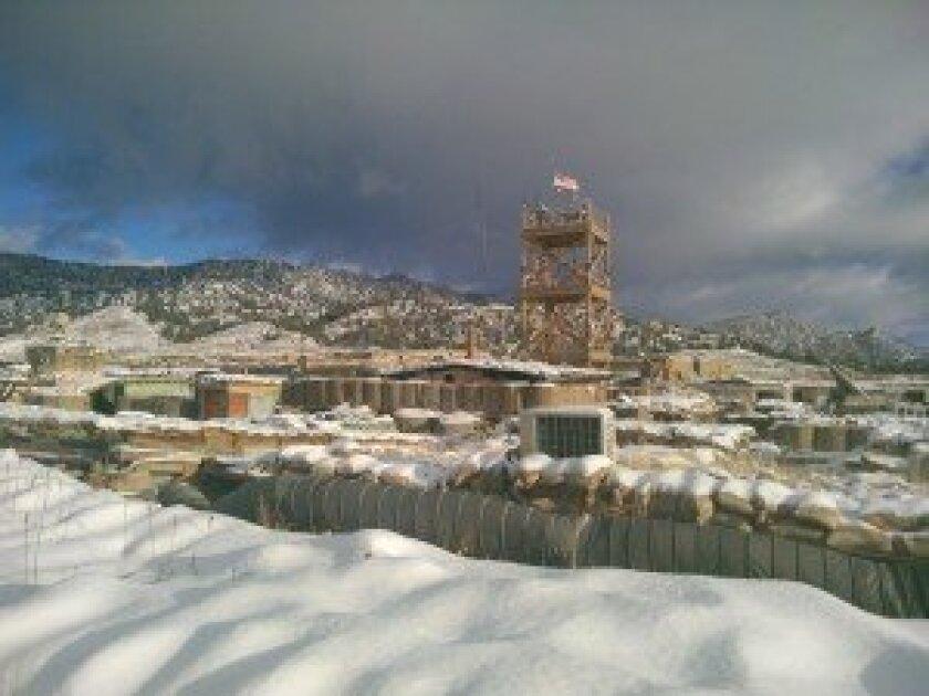 U.S. Army Combat Outpost (COP) Zerok, Afghanistan