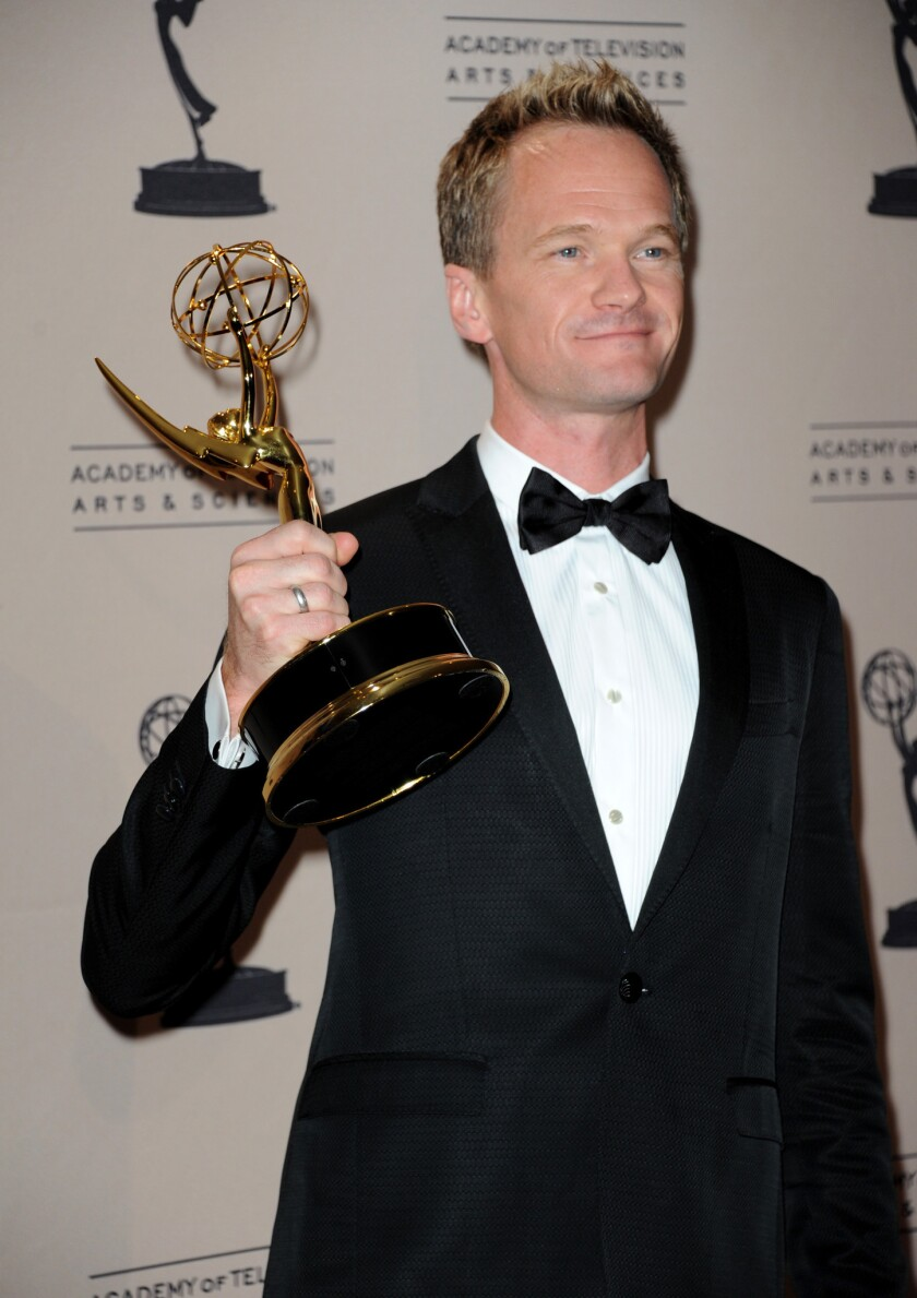 Neil Patrick Harris won an Emmy for his role as producer/host of the Tony Awards.