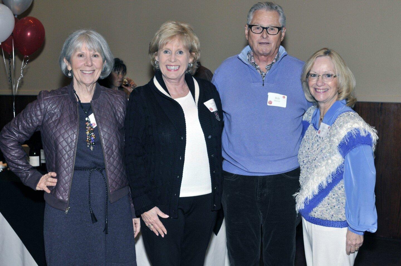 Pat Peterson, Jane and Bob Heintz, Donna Burtch